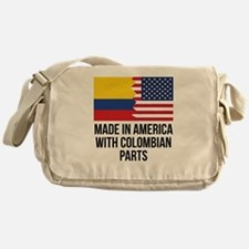 Made In America With Colombian Parts Messenger Bag