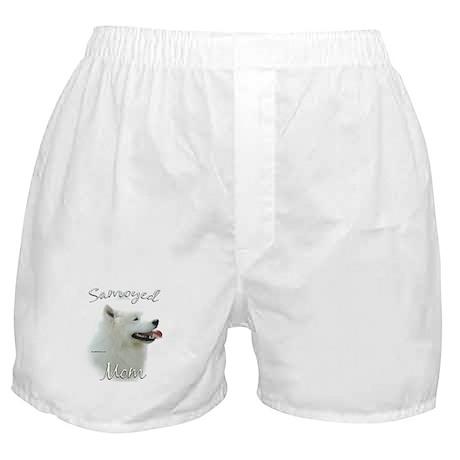 Samoyed Mom2 Boxer Shorts