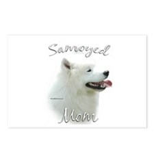 Samoyed Mom2 Postcards (Package of 8)