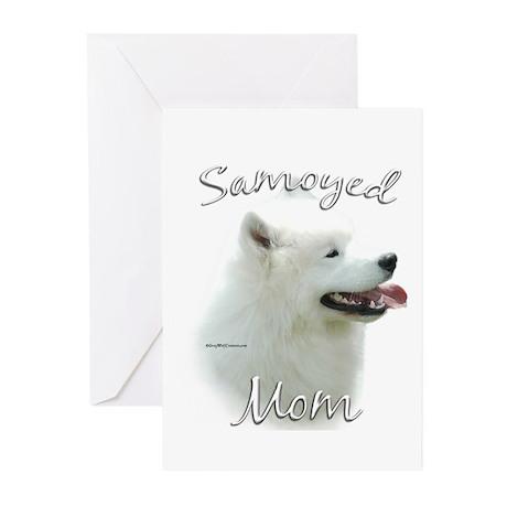 Samoyed Mom2 Greeting Cards (Pk of 20)