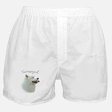 Samoyed Dad2 Boxer Shorts