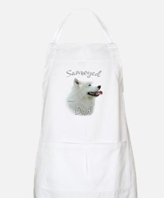 Samoyed Dad2 BBQ Apron
