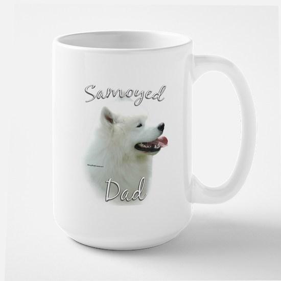 Samoyed Dad2 Large Mug