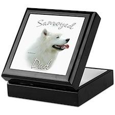 Samoyed Dad2 Keepsake Box
