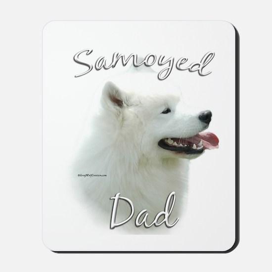 Samoyed Dad2 Mousepad