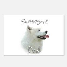 Samoyed Dad2 Postcards (Package of 8)