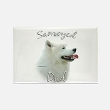 Samoyed Dad2 Rectangle Magnet