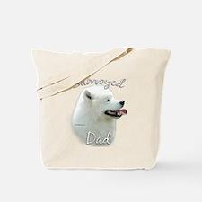 Samoyed Dad2 Tote Bag
