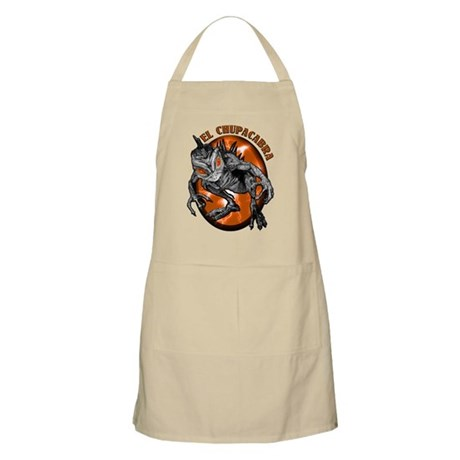 Chupacabra with Background 2 BBQ Apron