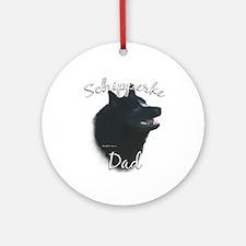 Schipperke Dad2 Ornament (Round)