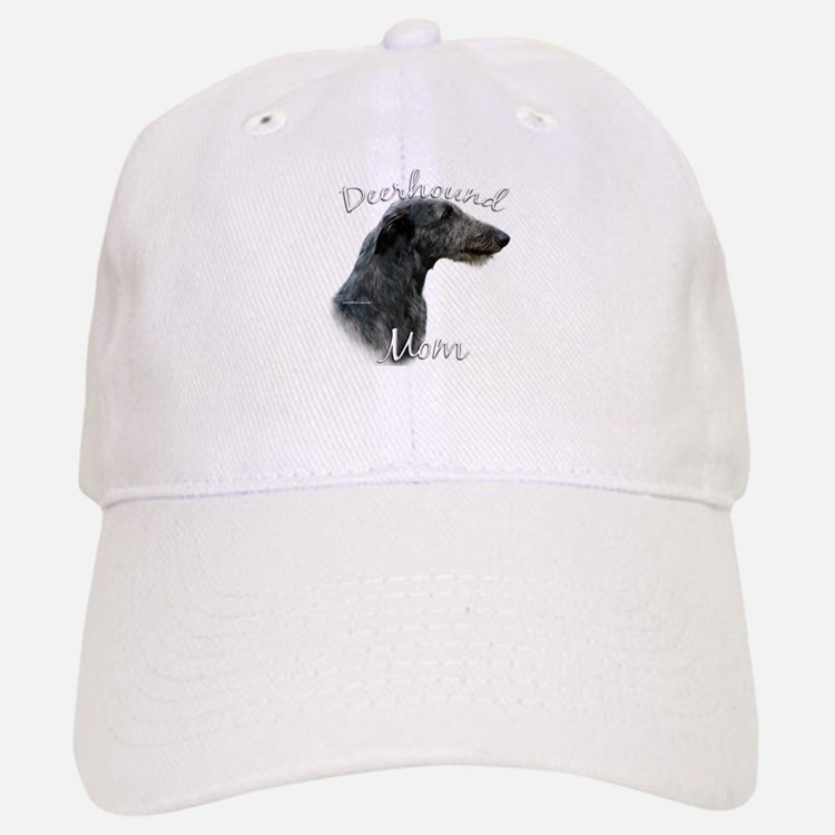 Deerhound Mom2 Baseball Baseball Cap