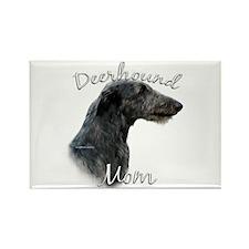 Deerhound Mom2 Rectangle Magnet