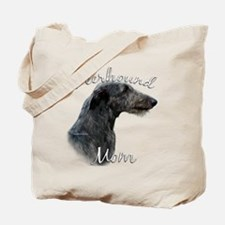 Deerhound Mom2 Tote Bag