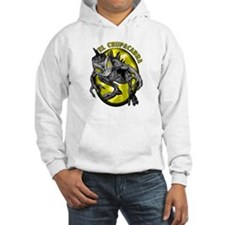 Chupacabra with Background 3 Hoodie