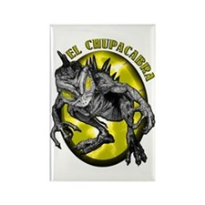 Chupacabra with Background 3 Rectangle Magnet