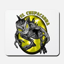 Chupacabra with Background 3 Mousepad