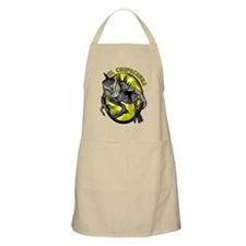 Chupacabra with Background 3 BBQ Apron