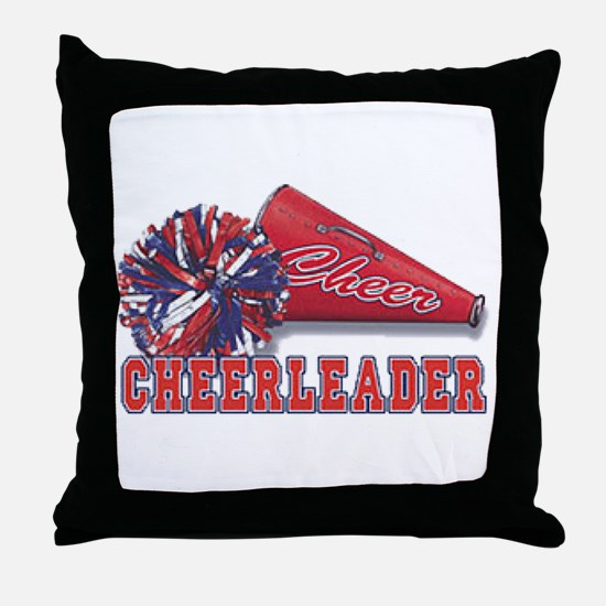Cheerleader Cone Throw Pillow