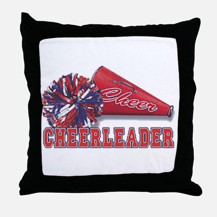 Cheerleader Cone Throw Pillow