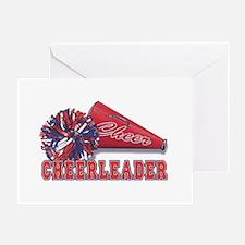 Cheerleader Cone Greeting Card