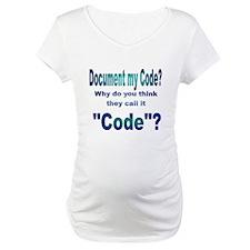 Document my Code? Shirt