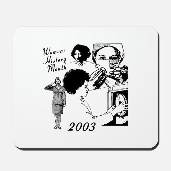 Women history month Mousepad