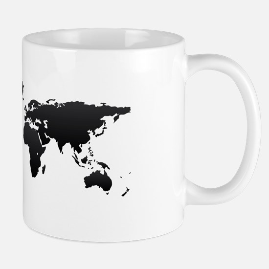 World map Mugs