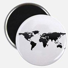 World map Magnets