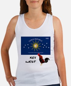 key west flag rooster Tank Top