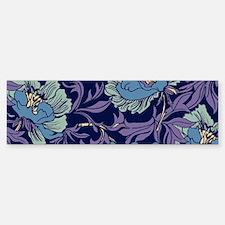 William Morris Textile Bumper Bumper Bumper Sticker