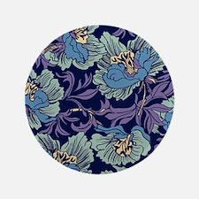 """William Morris Textile 3.5"""" Button (100 pack)"""