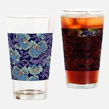 William Morris Textile Drinking Glass