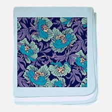 William Morris Textile baby blanket