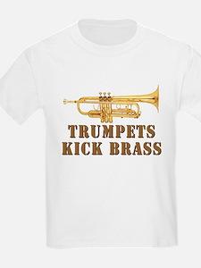 Trumpets Kick Brass T-Shirt
