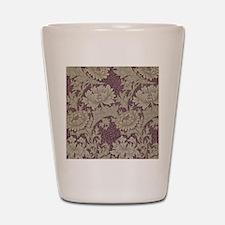 Chrysanthemum William Morris Shot Glass