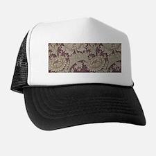 Chrysanthemum William Morris Trucker Hat