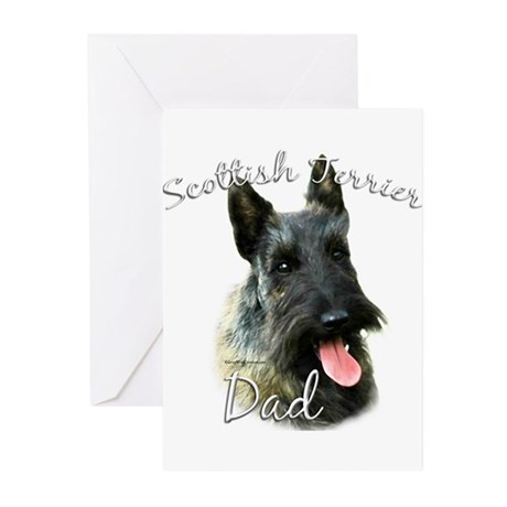Scotty Dad2 Greeting Cards (Pk of 20)