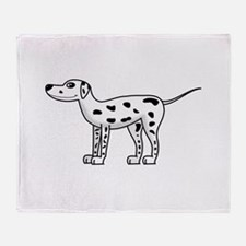 Dalmatian Throw Blanket