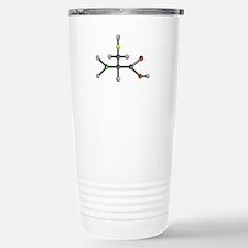 Cysteine amino acid Stainless Steel Travel Mug