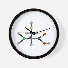 Cysteine amino acid Wall Clock