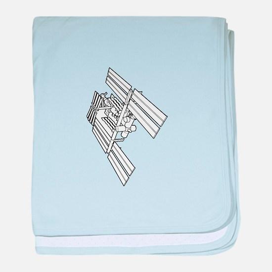 International space station baby blanket