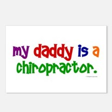 My Daddy Is A Chiropractor (PRIMARY) Postcards (Pa