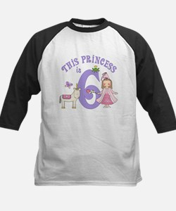 Unicorn Princess 6th Birthday Tee