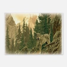 Wolf Mountain 5'x7'Area Rug