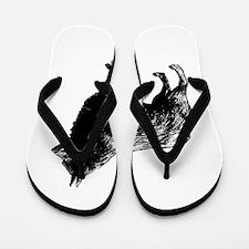 Schipperke Flip Flops