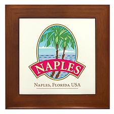 Naples Paradise - Framed Tile