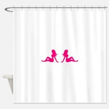 Mudflap Girl Shower Curtain