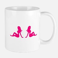 Mudflap Girl Mugs
