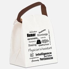 Physician's Assistant Canvas Lunch Bag