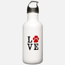 Love with a paw Water Bottle